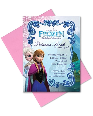 Frozen Invitation Customizable Official shopDisney