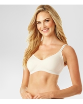 Simply Perfect by Warner's Women's Underarm Smoothing Seamless Wireless Bra - Butterscotch L