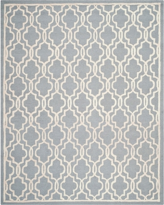 Langley Textured Area Rug - Silver/Ivory (6'x9') - Safavieh