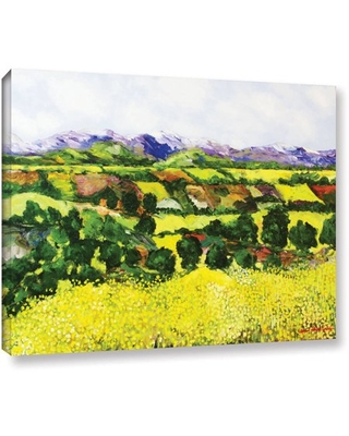 "ArtWall Allan Friedlander ""Yellow Weeds"" Gallery-wrapped Canvas"