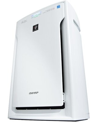 Sharp Air Purifier, True Hepa, Plasmacluster (extra Large Rooms) - White