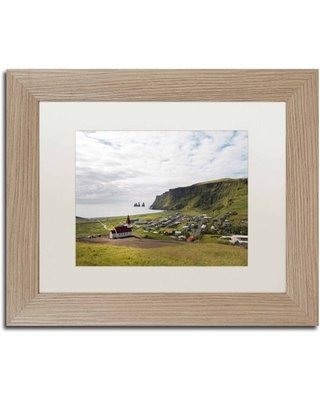 Trademark Fine Art 'Vik' Canvas Art by Philippe Sainte-Laudy, White Matte, Birch Frame
