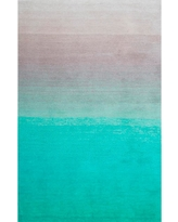 Ombre Shag Turquoise 8 ft. x 10 ft. Area Rug