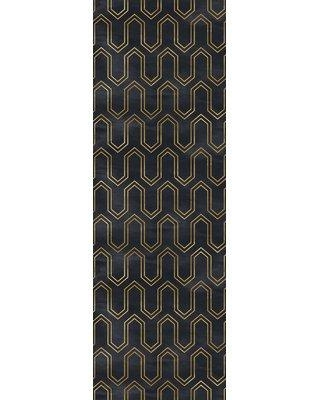 """Mercer41 Crenshaw Removable 4.17' L x 25"""" W Peel and Stick Wallpaper Roll W000182855"""