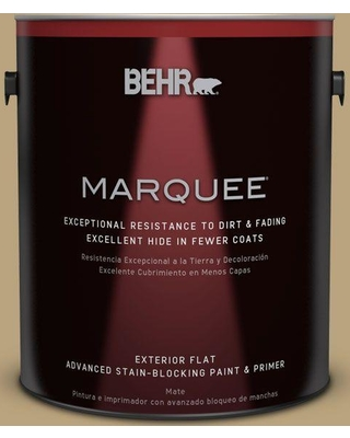 BEHR MARQUEE 1 gal. #T13-4 Golden Age Flat Exterior Paint and Primer in One