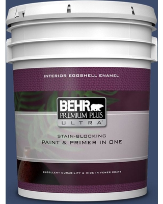 BEHR ULTRA 5 gal. Home Decorators Collection #HDC-SM16-08 Blackberry Cobbler Eggshell Enamel Interior Paint & Primer