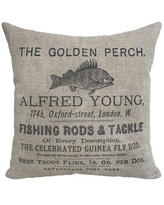 Great Sales On Millwood Pines Gamino Great Day Ice Fishing Linen Throw Pillow X111557720