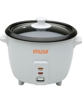 Imusa 5-Cup Rice Cooker, White