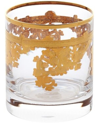 10 oz. Crystal Whiskey Glass Lorren Home Trends
