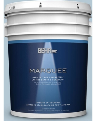BEHR MARQUEE 5 gal. Home Decorators Collection #HDC-CT-16A English Hollyhock One-Coat Hide Satin Enamel Interior Paint & Primer