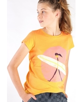 Tea Collection Surfer Girl Graphic Tee