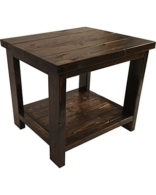 The Best Summer Sales: Farmhouse End Table - Rustic Living Room Side ...