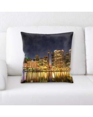 East Urban Home Darling Harbour Throw Pillow W000918097