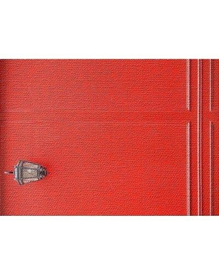 East Urban Home Focus 101 Red Area Rug W001890352 Rug Size: Rectangle 5' x 7'