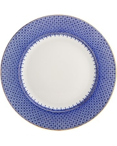 Mottahedeh Dinner Plate, Blue Lace