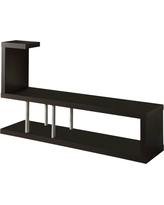 Hollow Core TV Stand - Cappuccino (60) - EveryRoom, Brown