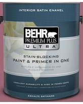 Spectacular Savings On Behr Ultra 1 Gal 100d 5 Berries And Cream Extra Durable Flat Interior Paint And Primer In One