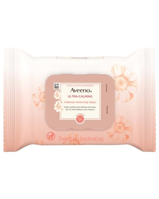 25 Count, Aveeno Makeup Remover Wipes