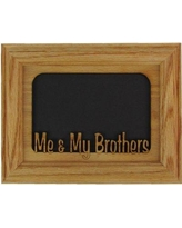 NorthlandFramesandGifts Me and My Brothers Picture Frame 0507MMBROSBO Color: Oak