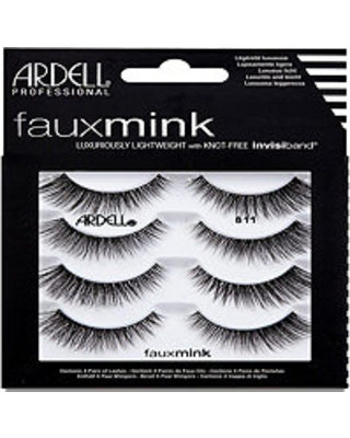 Ardell Lash Faux Mink #811 4 PAIR MultiPACK