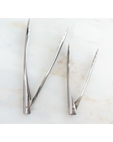Williams Sonoma Stainless-Steel Tongs, 9""