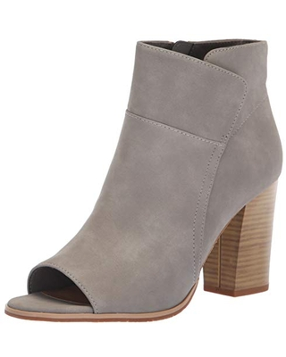 BC Footwear Women's Scale Ankle Boot, Grey, 10 M US