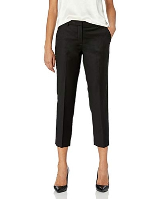 Theory Women's Tailor Trouser C, Black, 10