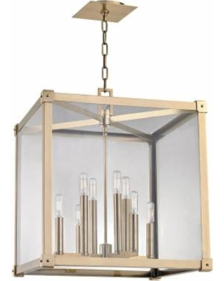Hudson Valley Lighting Forsyth 20 Inch Cage Pendant - 8620-AGB