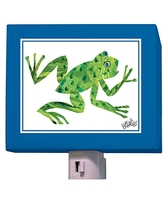 """Oopsy Daisy Eric Carle's Night Light, Frog, 5"""" x 4"""""""