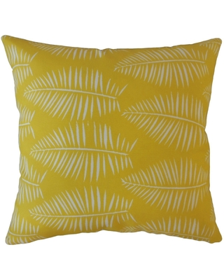 Xuan Graphic Throw Pillow Pineapple (Square - 24 x 24)