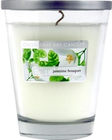 Home Scents Jasmine Bouquet 11.5 oz Candle, White