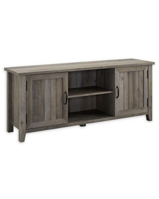 Forest Gate™ Sage 58-Inch TV Stand in Grey Wash