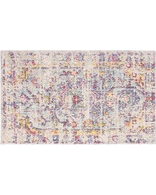 French Connection French Connection Zenaide Colorwashed Ivory Area Rug W000551455 Rug Size: Rectangle 2' x 3'