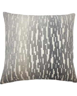 "The Pillow Collection Yohance Geometric Throw Pillow TPLC3952 Size: 18"" H x 18"" W x 5"" D"