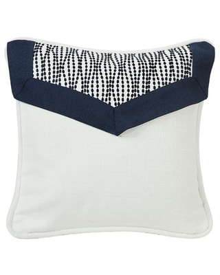 Jacobus Linen Throw Pillow with Embroidery Envelope and Piping Detail Alcott Hill