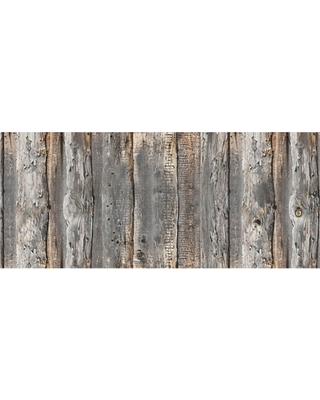 """Home Accents FoFlor 2'1"""" x 5' Cabin Creek Accent Runner, Gray"""