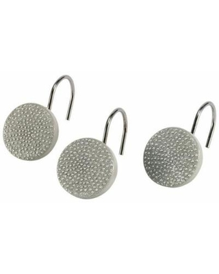 Avanti Dotted Circles 12-pc. Shower Curtain Hooks