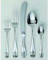 Ginkgo Classic English 45 Piece Flatware Set Service for 8 07991420451