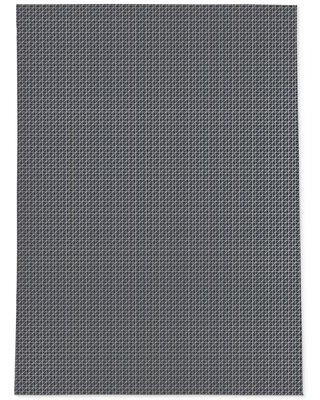 KAVKA DESIGNS Axis Charcoal-2X3 Axis Beige Area Rug By Becky Bailey MWRUG-17-L Rug Size: Rectangle 5' x 7'