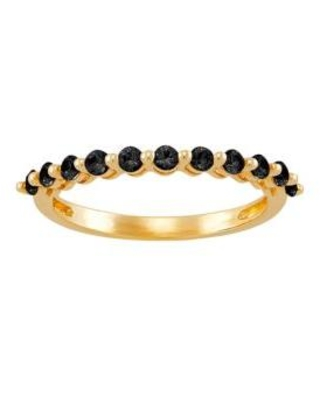 Belk & Co. Gold Onyx Ring in 10K Yellow Gold