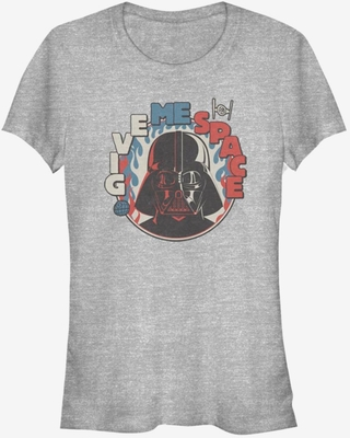 Star Wars Vader Give Me Space Girls T-Shirt