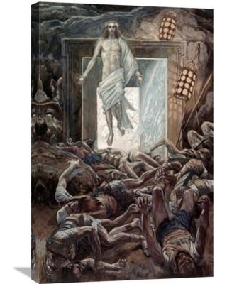 Global Gallery 'The Resurrection' by James Tissot Painting Print on Wrapped Canvas GCS-282937-30-142