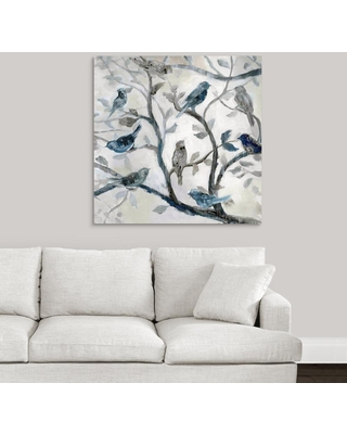 "GreatBigCanvas ""Morning Song II""by Nan F Canvas Wall Art, Multi-Color"