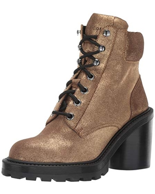 Marc Jacobs Women's Crosby Hiking Boot Ankle, Gold, 39.5 M EU (9.5 US)