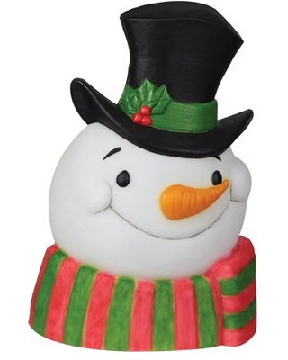 Snowman with Sound and Lights Christmas Decoration
