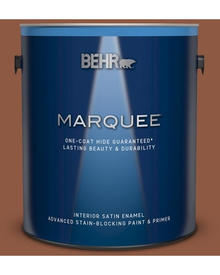BEHR MARQUEE 1 gal. #PPU3-18 Artisan Satin Enamel Interior Paint and Primer in One