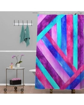 East Urban Home 1 Polyester Shower Curtain HACO3285