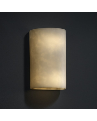 Justice Design Group Clouds 2-light Large (No Metal) Wall Sconce (Clouds Resin)