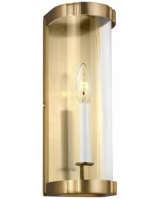Generation Lighting Thompson 14 Inch Wall Sconce - AW1081BBS