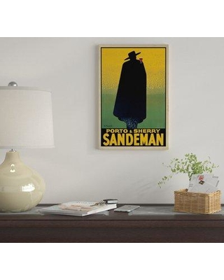 """East Urban Home 'Porto And Sherry Sandeman' By Georges Massiot Graphic Art Print on Wrapped Canvas EUME3827 Size: 18"""" H x 12"""" W x 1.5"""" D"""